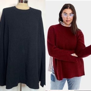 J. Crew collection cashmere split side sweater
